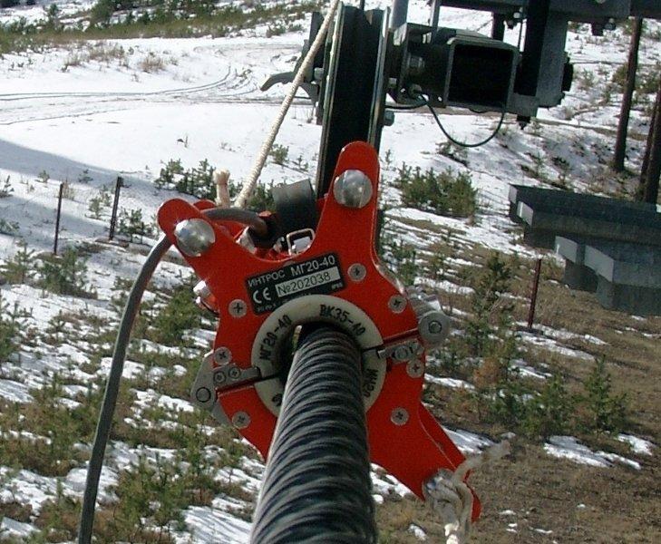 inspeção eletromagnetica em cabos de aço